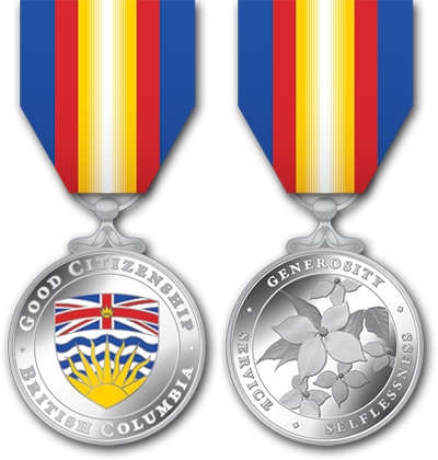 Medal of Good Citizenship front & back view