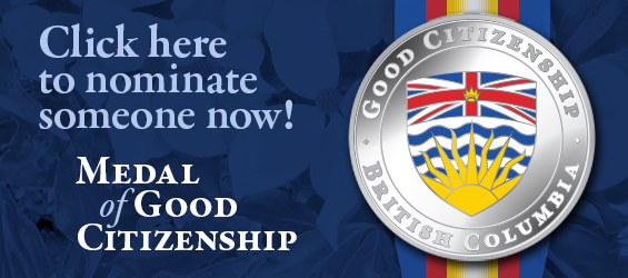 Nominate for Medal of Good Citizenship