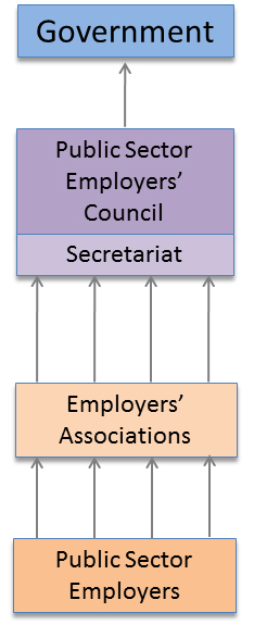 Council Authority Relationship Diagram