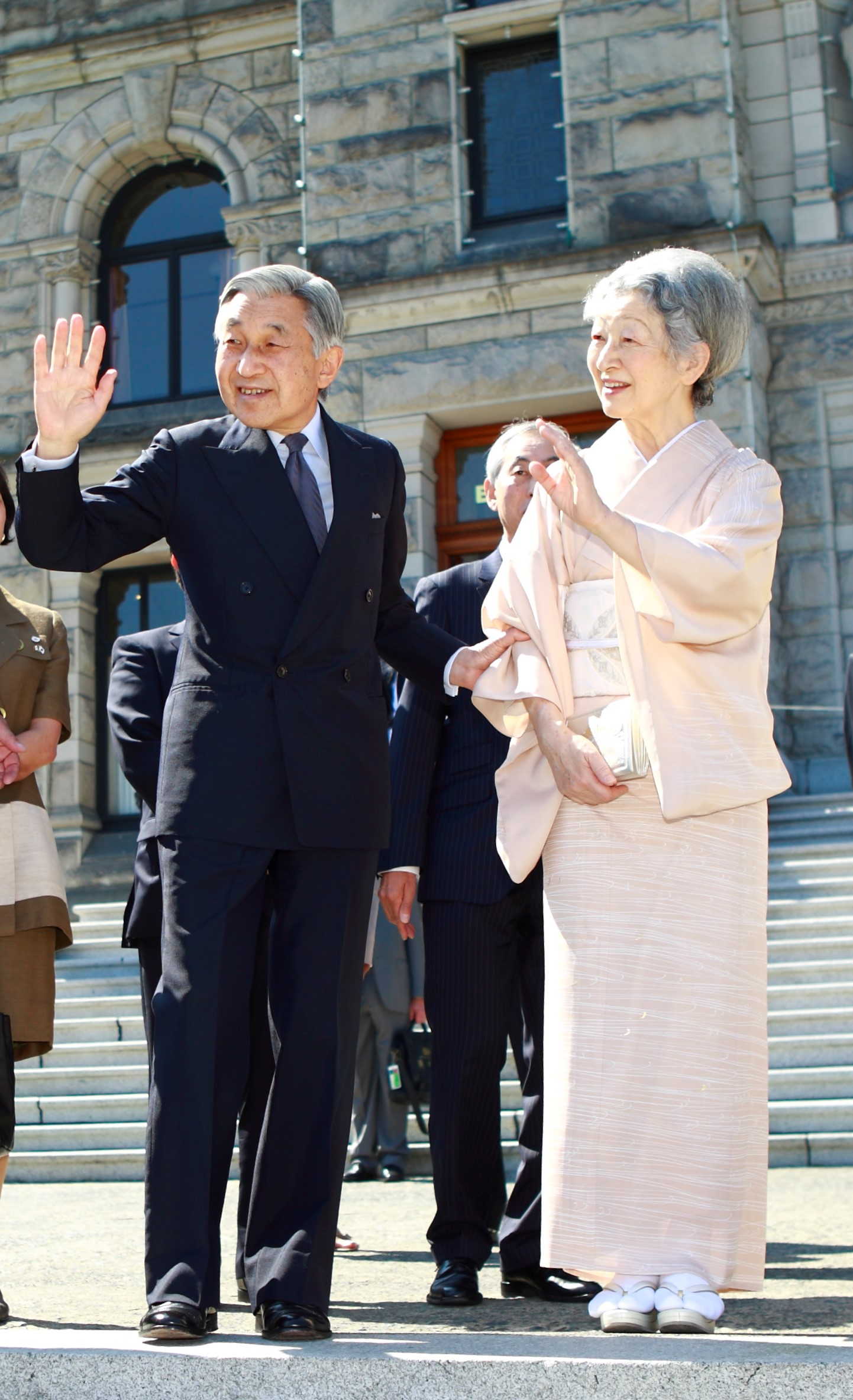 Their Majesties The Emperor and Empress of Japan