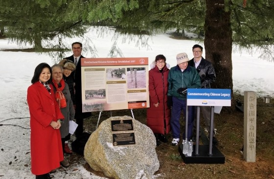 Cumberland commemorative plaque unveiled