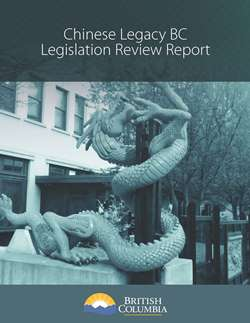 Legislation Review Report