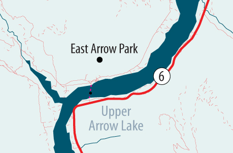Go to Google Map of Arrow Park cable ferry