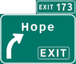 Highway Exit Signs