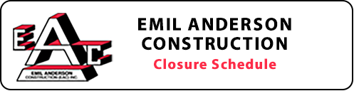 Visit Emil Anderson Construction's Facebook page for Project Updates