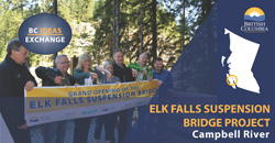 Elk Falls Suspension Bridge Success Story