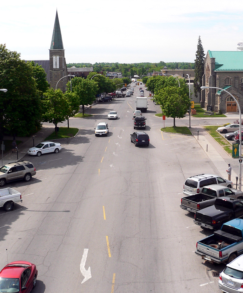 Downtown Smiths Falls, Ontario