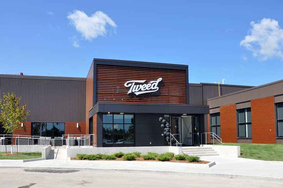 Exterior of Tweed business