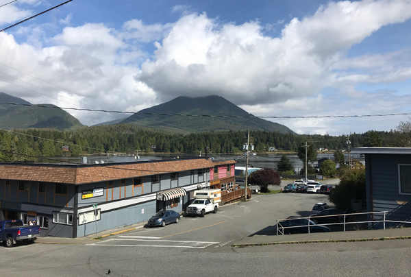 Downtown Ucluelet