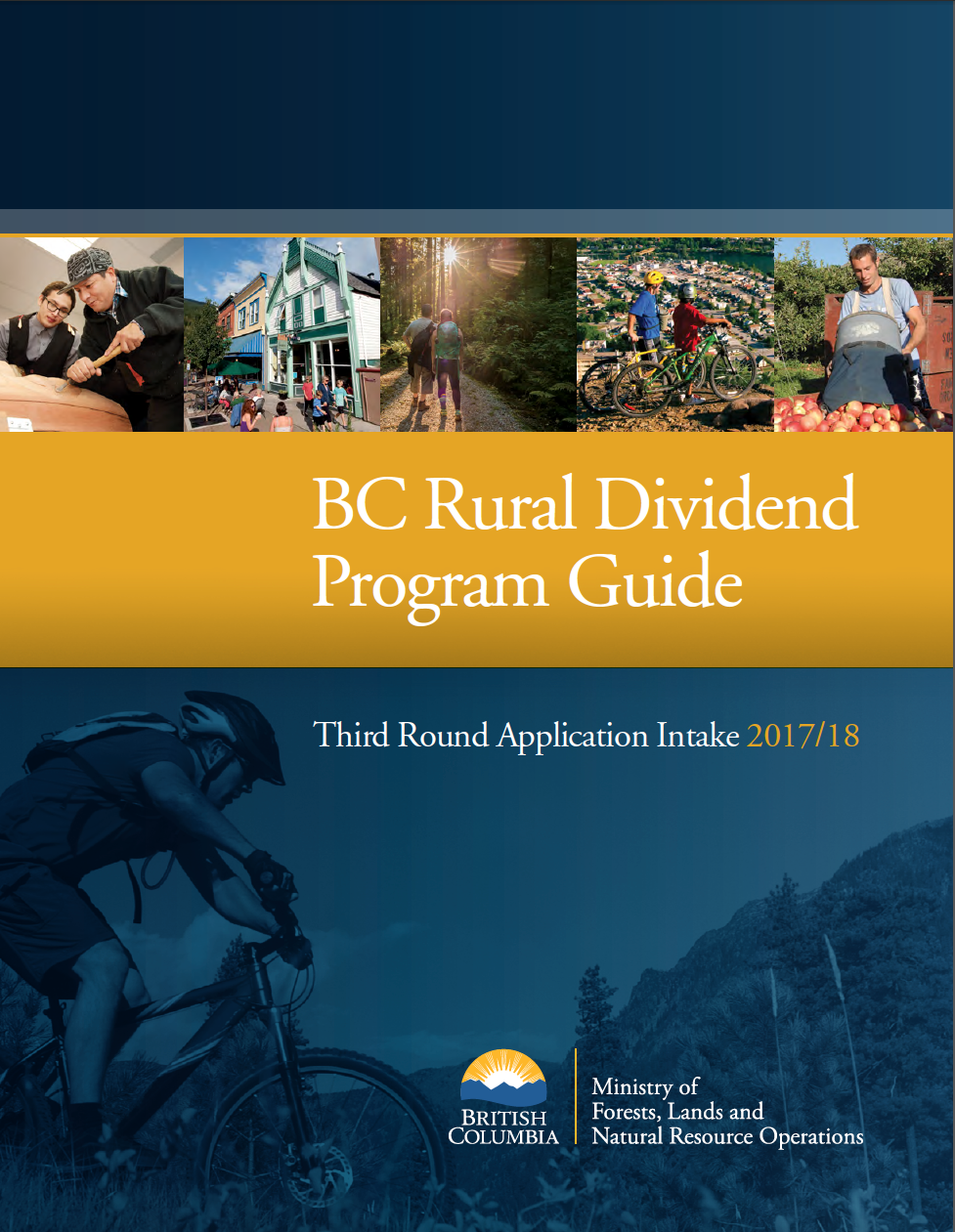 BC Rural Dividend 3rd Intake Program Guide