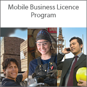 Mobile business licence program thumbnail