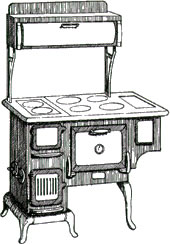 Image of a cook stove