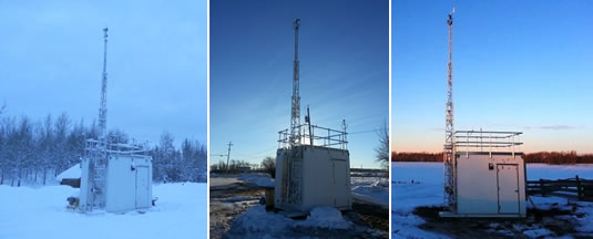 Air monitoring stations