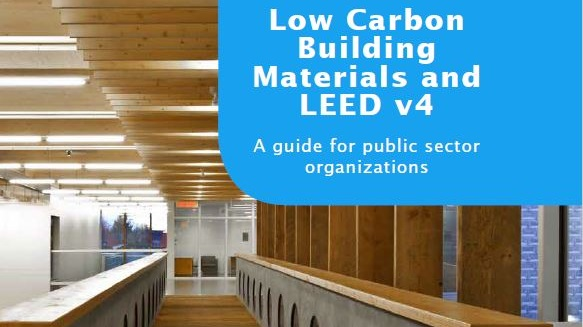 A guide for public sector organizations on low carbon building materials