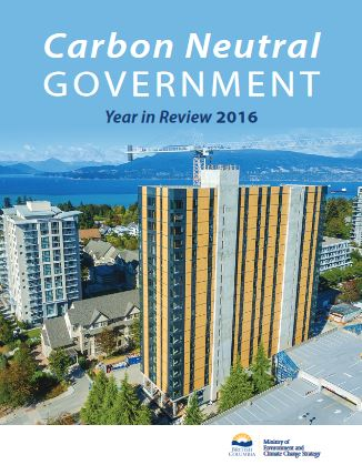 Carbon Neutral Governement 2016 Year in Review