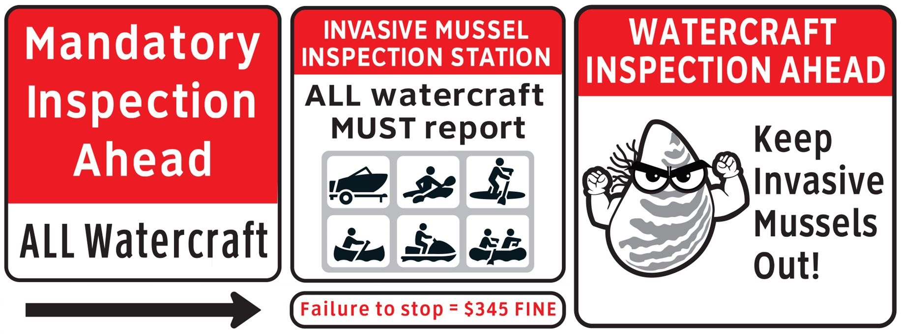 Help keep invasive mussels out