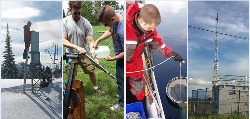 Environmental monitoring activities in B.C.