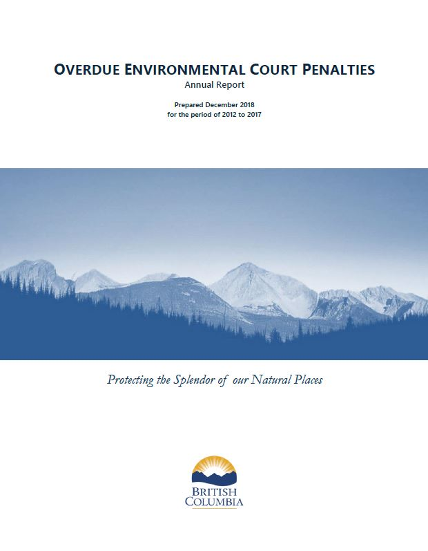 Overdue Environmental Court Penalties Report cover image