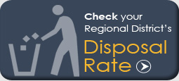 Check regional district's disposal rate