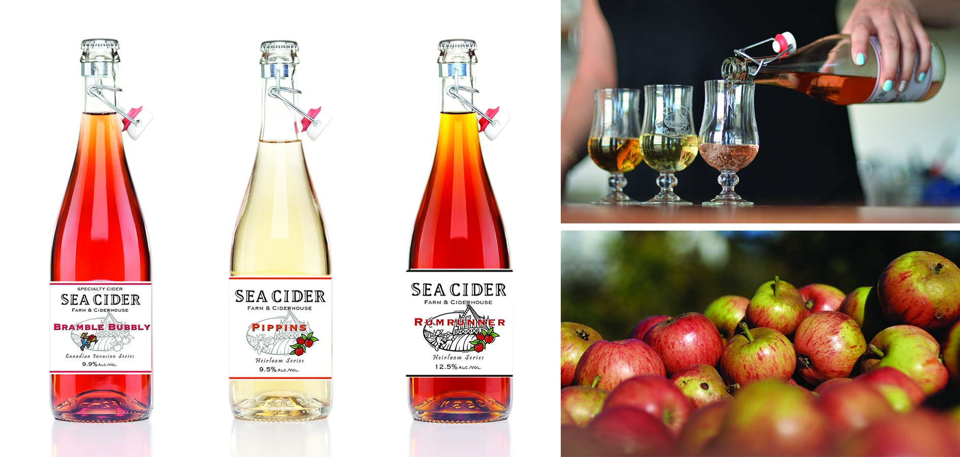 Sea Cider Products image 2017