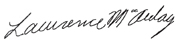 Image de la signature de Lawrence MacAulay