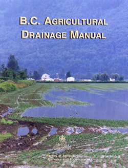 Agricultural Drainage Manual brochure cover