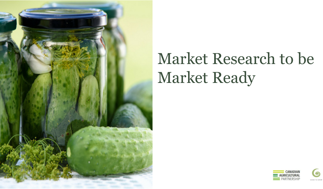 Market Research to be Market Ready