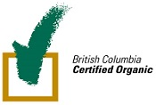 British Columbia Certified Organic checkmark logo