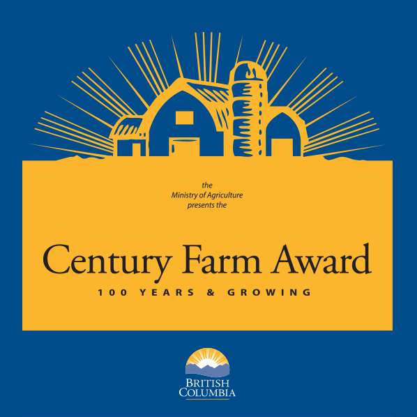 British Columbia Century Farm Award