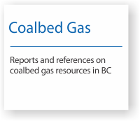 Reports and references on coalbed gas in BC