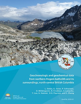 Cover image of BCGS GeoFile 2020-01