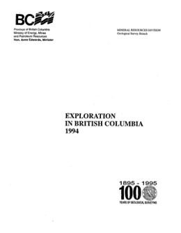 Exploration in British Columbia, 1994