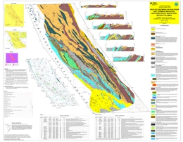 Geology between Gataga River and Terminus Mountain, northern Rocky Mountains, British Columbia (94L/7,8,9,10,11,14 and 15)