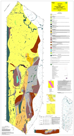 Geology of the Northern Kechika Trough, British Columbia (94L/14,15; 94M/3,4,5,6,12,13; 104P/8,9,15 and 16)