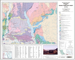 Geology of the Grand Forks, British Columbia (82E/1)