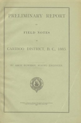 Miscellaneous Report 1886-01