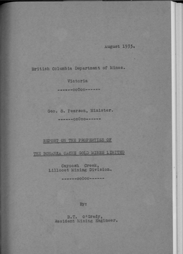Miscellaneous Report 1935-02