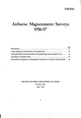 Miscellaneous Report 1958-01
