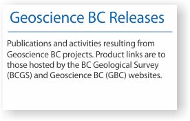 Geoscience BC Releases