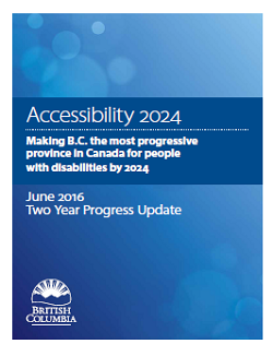 Accessibility 2024 year 2 report cover