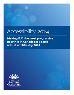 Accessibility 2024 report cover