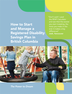 RDSP guide cover