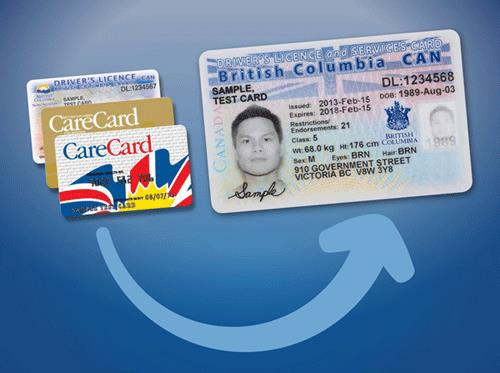 New BC Services Card