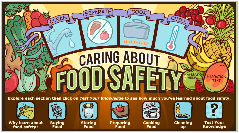 Caring about Food Safety
