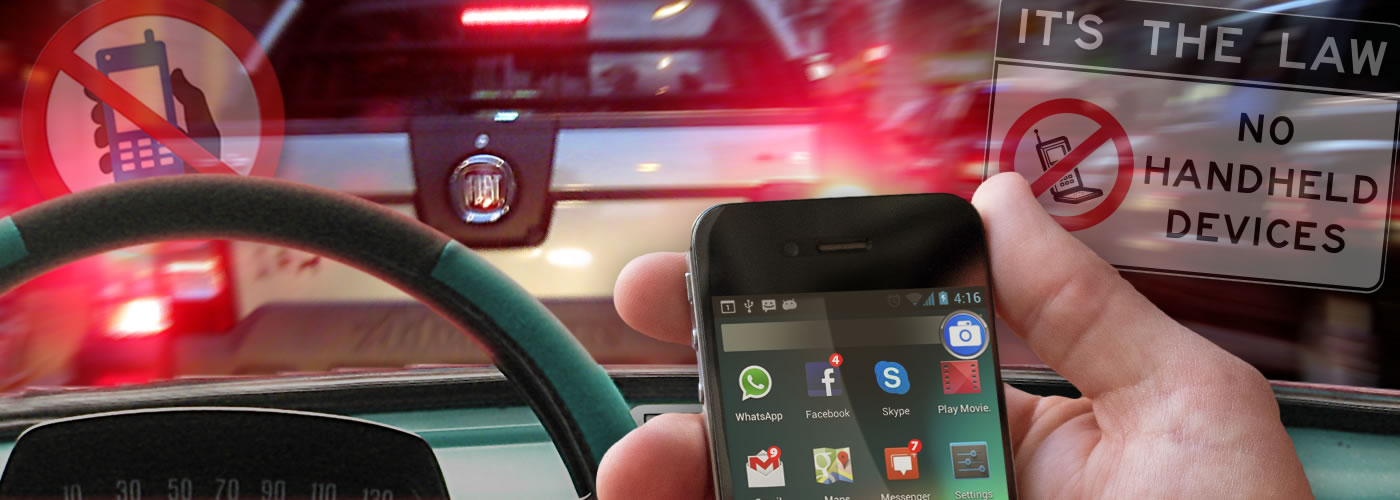 Have your say on B.C.'s distracted driving penalties.