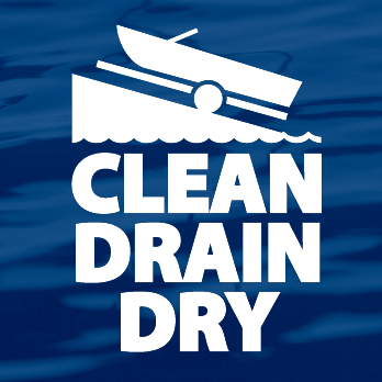 clean, dry, drain your watercraft