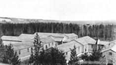 Prince George Women's Jail located in former army detention barracks (1947)
