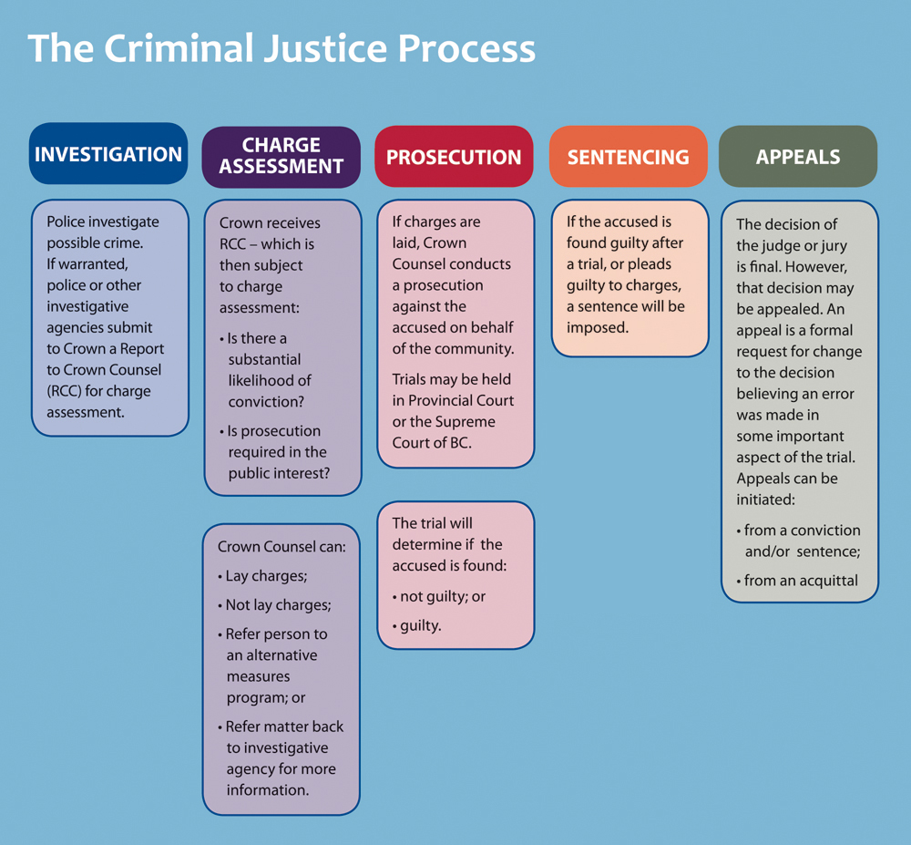 crime and criminal justice process Due process vs crime control model the two models of crime that have been opposing each other for years are the due process model and the crime control model.