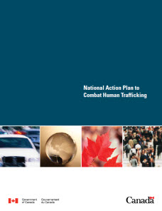 Image of the National Action Plan to Combat Human Trafficking document