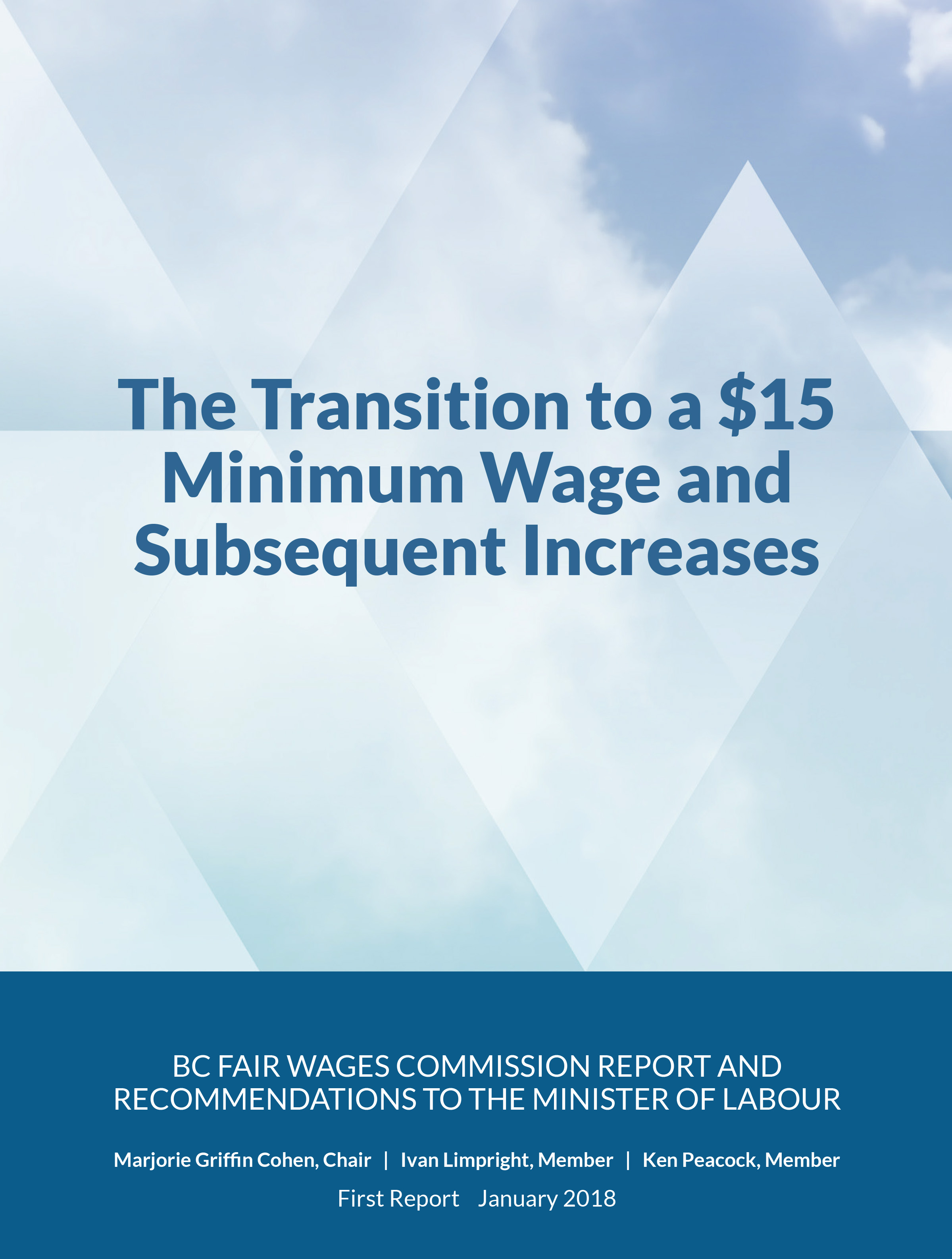 Fair Wages Commission Report